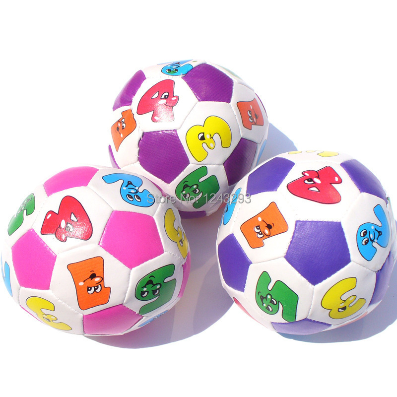 Baby toy ball gustless sesame street doll small rubber ball cartoon soft ball for baby toy infant children boys girls toys(China (Mainland))