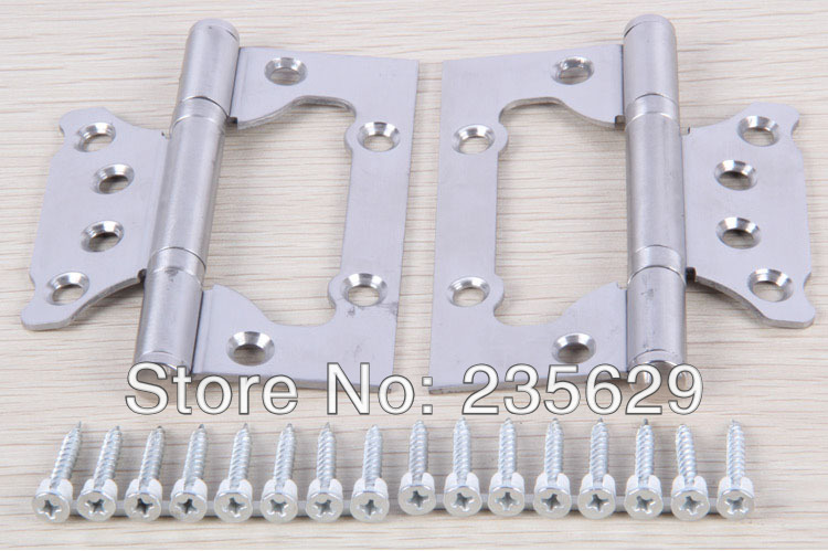 Здесь можно купить  Free Shipping,sub-mother hinge,4inch*3inch*2.5mm Hinges, brushed stainless steel Hinges for timber Door, no noise, long life  Аппаратные средства