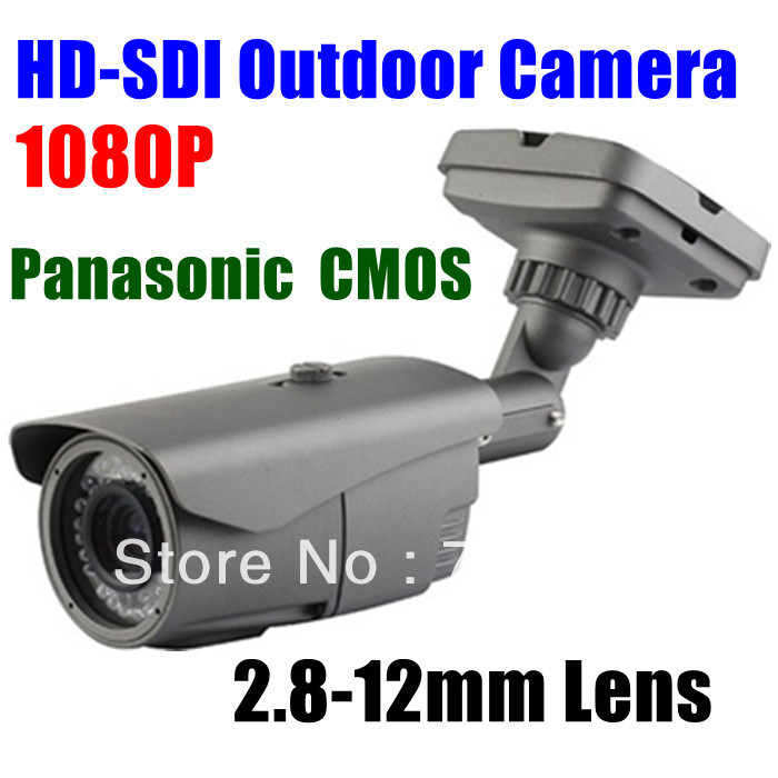 CYBO 1080P Panasonic  2.1 Megapixel CMOS HD-SDI HD CCTV Infrared IR Day Nightvision Outdoor Camera High Definition Security DVR<br><br>Aliexpress