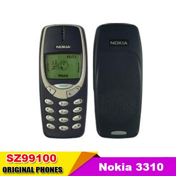 NOKIA 3310 Cell Phone Original GSM 900/1800(China (Mainland))