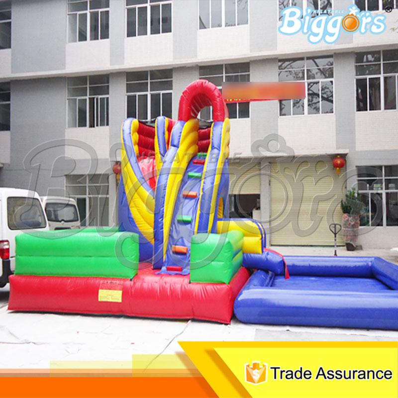 online kaufen gro handel aufblasbare rutsche mit pool aus china aufblasbare rutsche mit pool. Black Bedroom Furniture Sets. Home Design Ideas