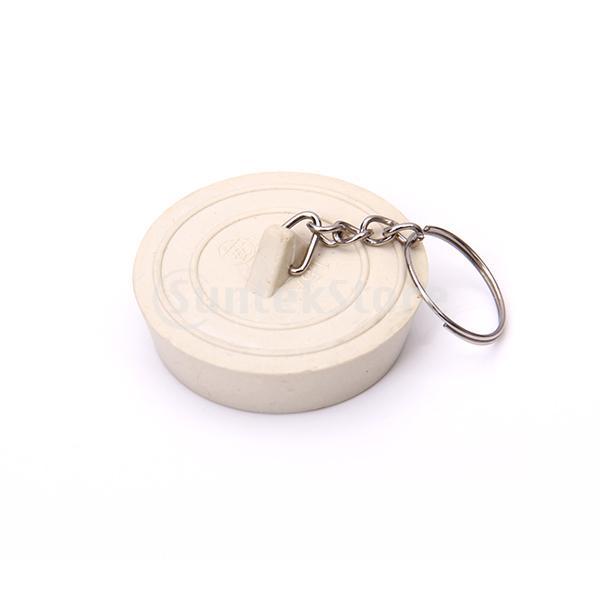Gratis verzending gebroken wit rubberen stop bad wastafel wastafel plug in de sleutelhanger - Wastafel originele ...