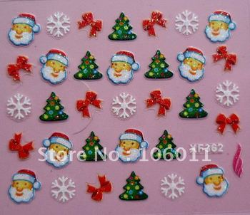 500 sheets x Christmas Nail Art Sticker - 24 Different Styles