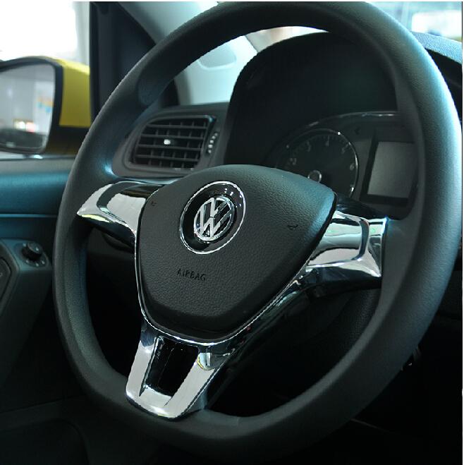 buy new design 2014 2015 for vw golf 7 gti mk7 polo car steering wheel cover. Black Bedroom Furniture Sets. Home Design Ideas