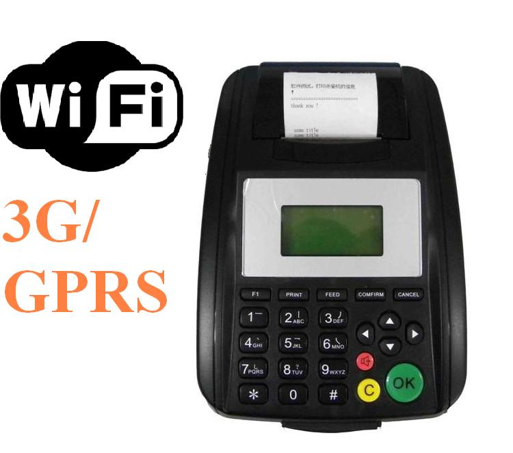 Popular Linux Wireless Mobile POS Printer with LAN & WIFI connectivity Supports Remotely Upgrade Softare(China (Mainland))