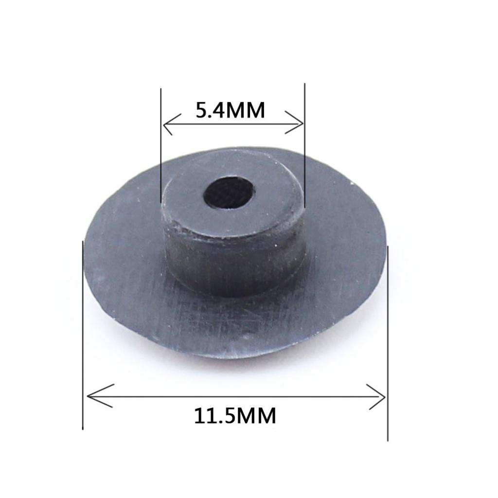 10Pcs/lot MTB Mountain Bike Stem Cap M6 Screw Cover Bolts Road Bicycle Headset Cap BLACK