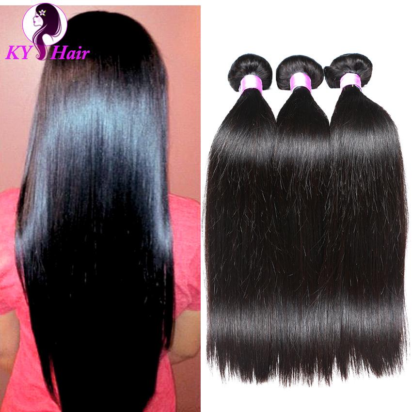 Peruvian Virgin Hair 100% Human Hair Extensions 3 Bundles 8-28 Inches Peruvian Straight Virgin Hair No Tangle Cheap Virgin Hair<br><br>Aliexpress