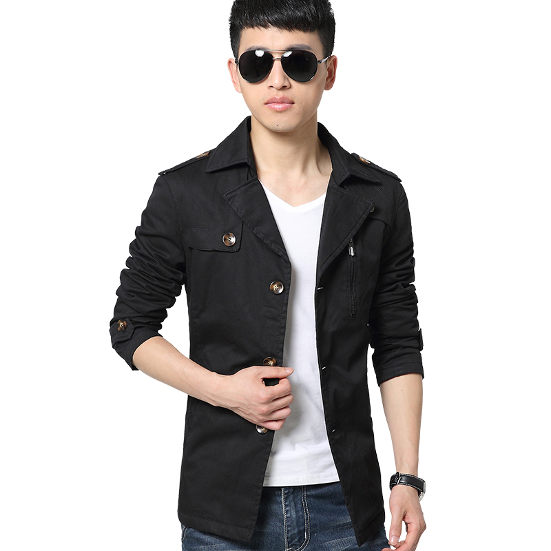 Winter Warm Brand Jacket Men Casual Business Outerwear New Style Blazer Suit Slim Fit Long Sleeve Mens Coat 2015 New #3228(China (Mainland))