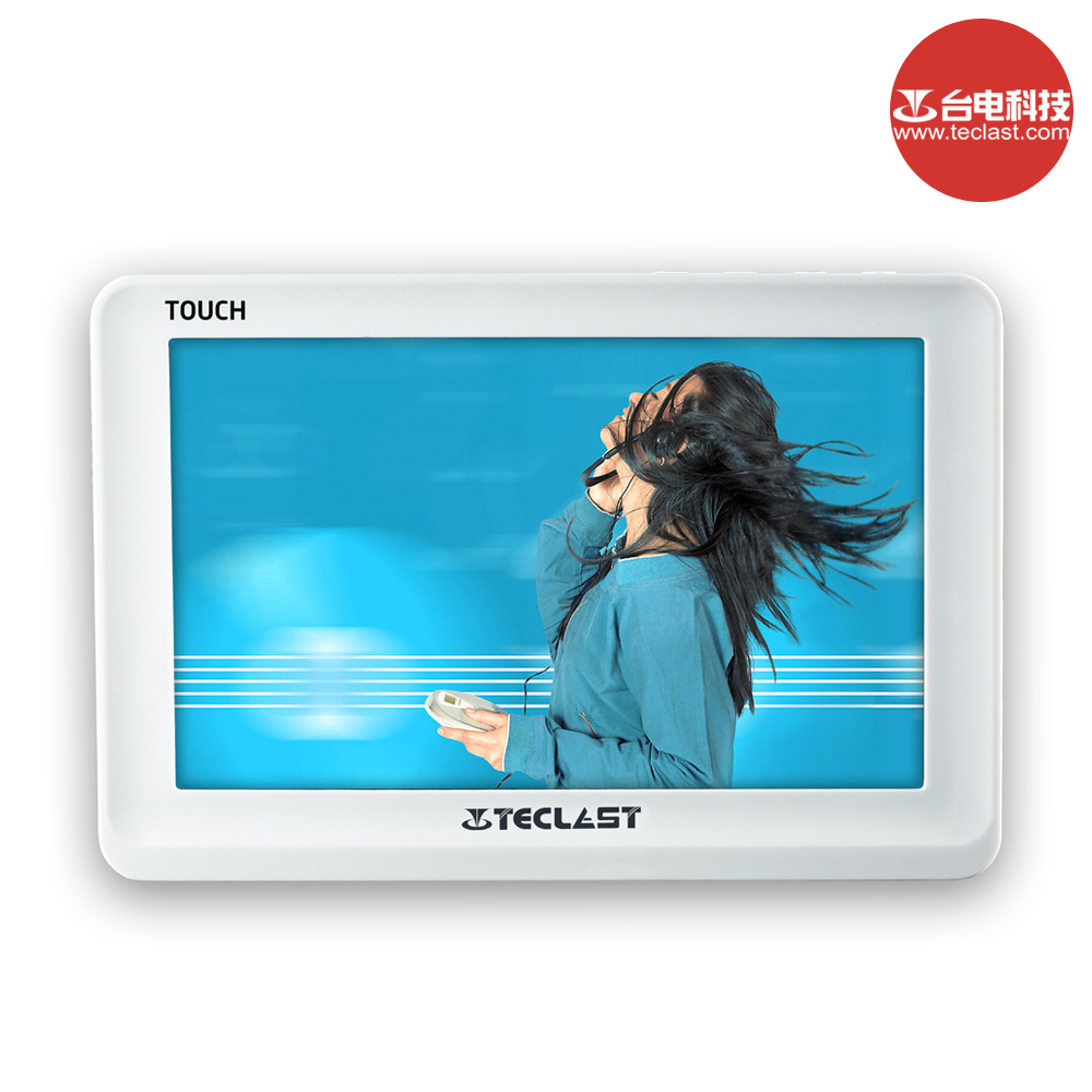 Teclast C520P HD720P MP3 MP4 Player Support AVI RM RMVB 3GP DAT FLV MP4 MPG VOB DIVX MKV MOV TXT E Book TF Card 5.0 TFT TV Out(China (Mainland))