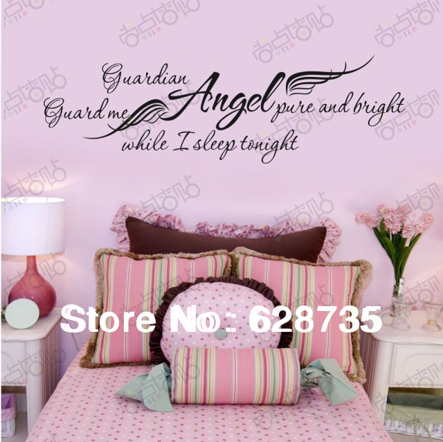 Ebay Hot Selling Guardian Angel While I Sleep Removable
