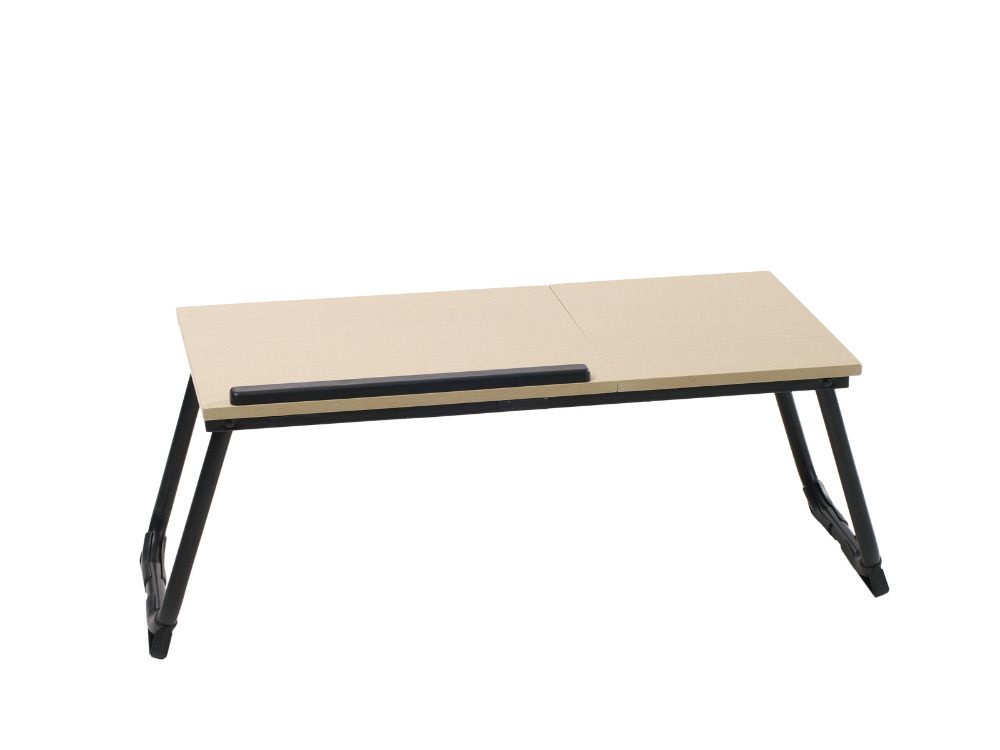 Folding Notebook Desk Laptop Computer Table Foldable Portable Living Room Apartment Bedroom