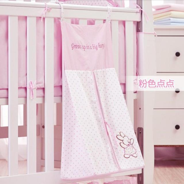 Хлопка хранения мешок пеленки младенца сумки кроватку комплект постельных принадлежностей