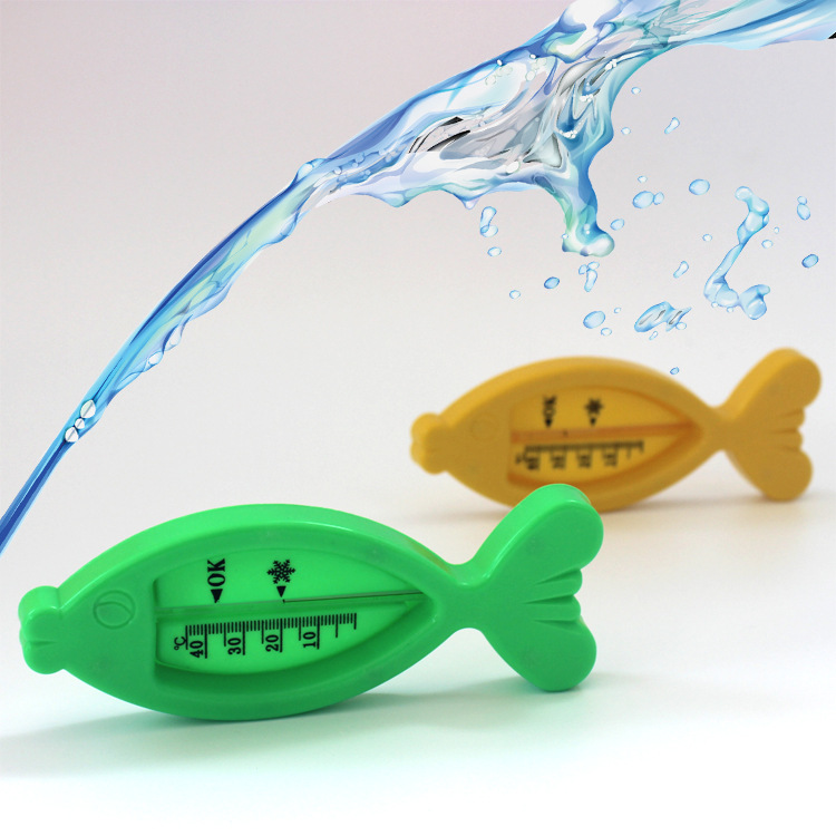 baby care Bath & Shower Product Water Thermometers Plastic Float Baby boy girl Bath Toy Tester Kid Promotion Floating Fish cute(China (Mainland))
