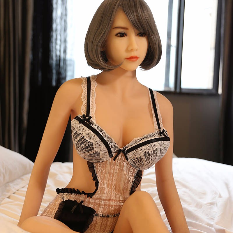 158cm Real Silicone Sex Dolls Big Ass Asian Cheap Adult Toys The Sexual Lifelike TPE realistic Vagina silicone sex love doll(China (Mainland))