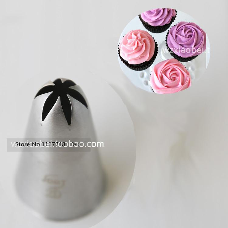 2D 852 Large Size Cupcake Nozzle Decorating Tip Icing Nozzle Cake Cupcake Decorating Tools Decorating