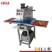 hydraulic operated double station heat press machine,Flatbed heat press machine,