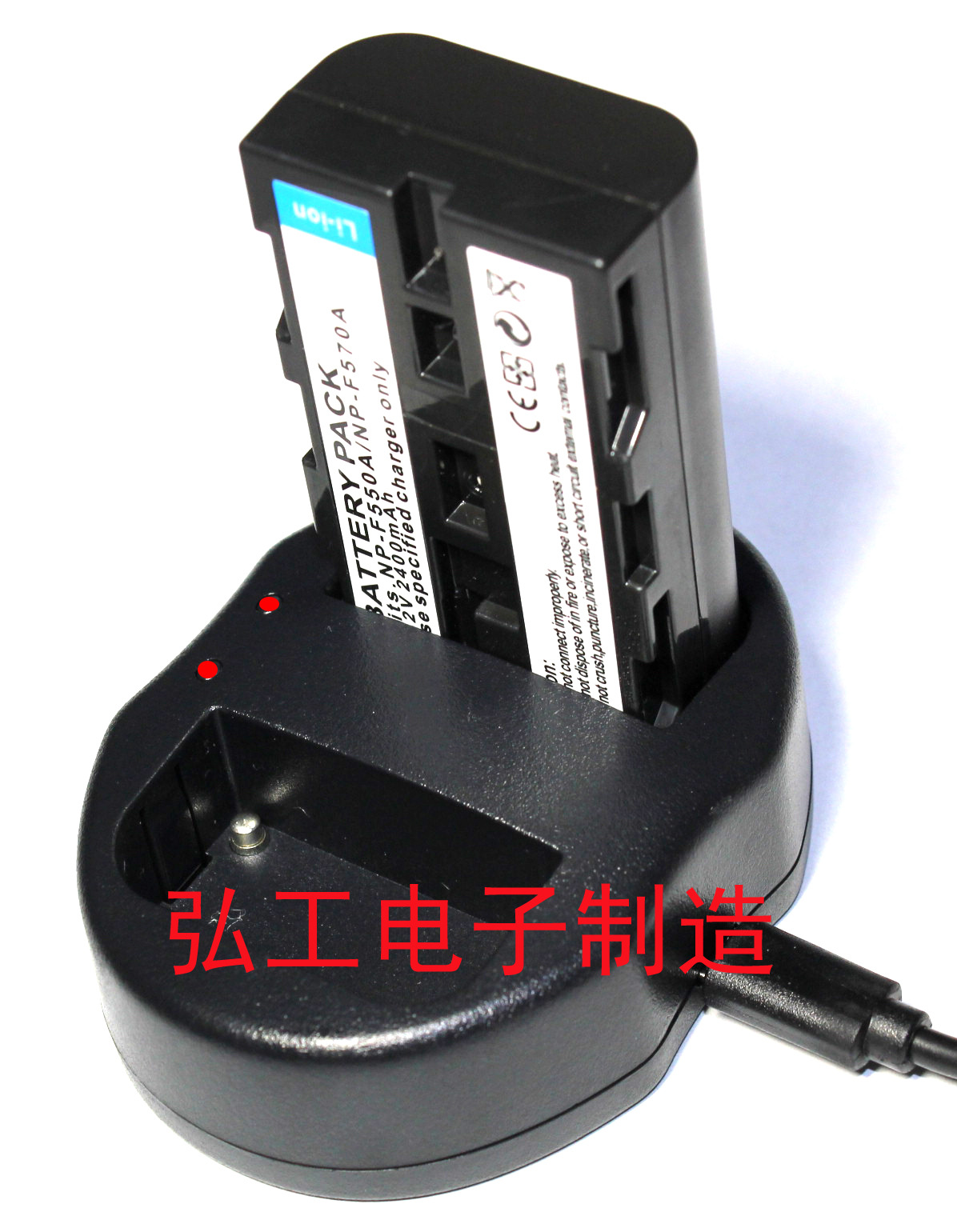 NP-F550 dual charger NP-F550/NP-FM50 USB battery charger<br><br>Aliexpress