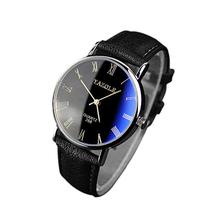 Splendid 2015 Luxury Fashion Faux Leather Dress Men Army Watch men Leather Quartz Analog Watch Watches