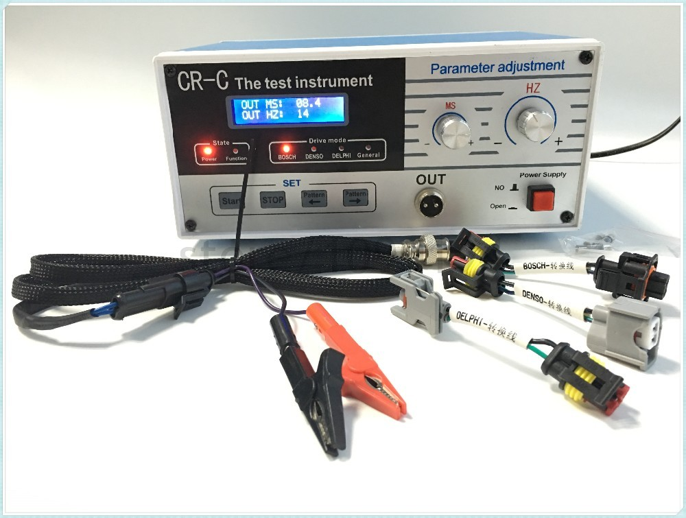 for bosch/delphi/denso 110 V diesel common rail injector tester tool 110V DHL free ship(China (Mainland))