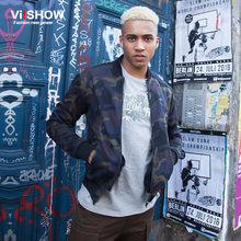 VIISHOW bomber Jacket mens Brand Clothing Harajuku Skateboard Camouflage Jackets Men military Clothes Coats Chaqueta Hombre 3XL - Viishow Official Flagship Store store