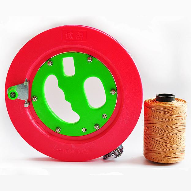 Free Shipping High Quality ABS Kite Wheel Big Kite Flying Traction Kite Fly Tools with 500m Flying Lines RD20(China (Mainland))
