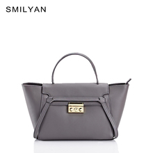 Smilyan belt women genuine leather bag fashion crossbody shoulder bags handbags famous brands catfish designers bolsos