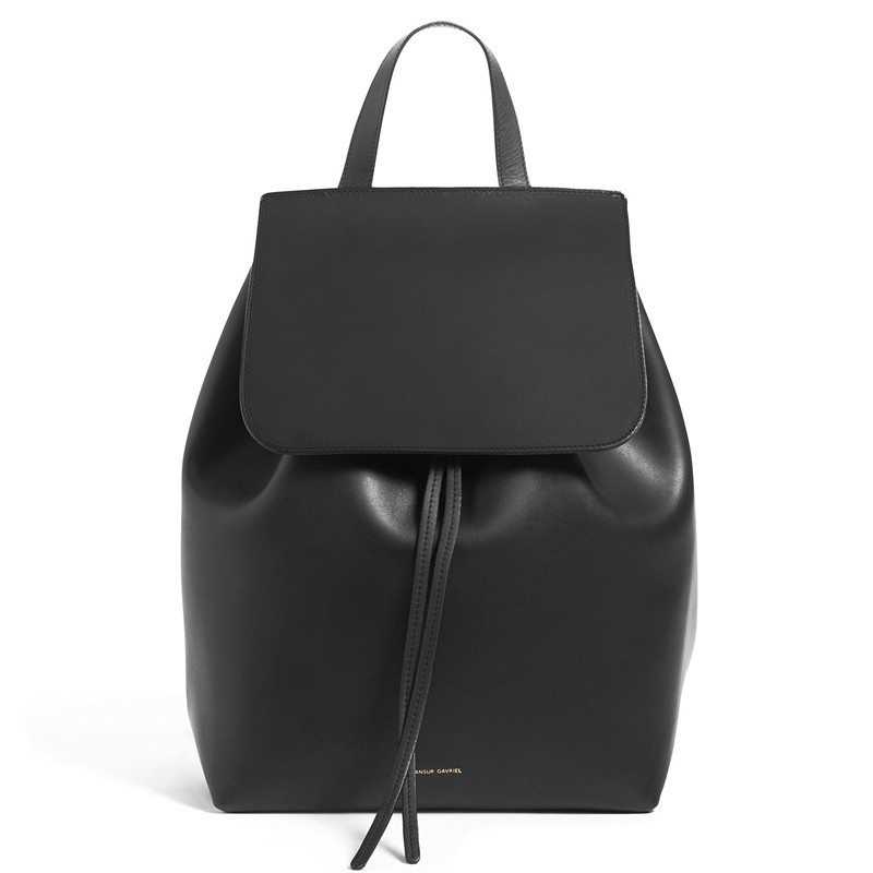 2015 Famous Brand Mansur Gavriel women real leather backpack lady genuine leather backpack, leather schoolbag.free shipping