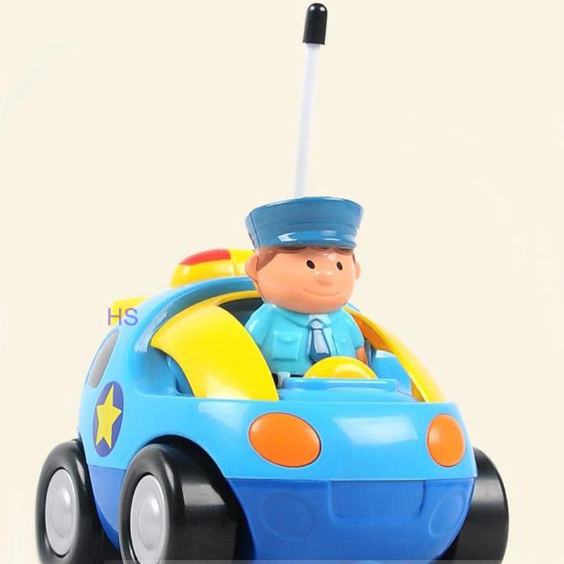 New Children Kids Cartoon Remote Control Car Race Car Baby Toys Music Mini Automotive Radio Control Cars Wholesale(China (Mainland))