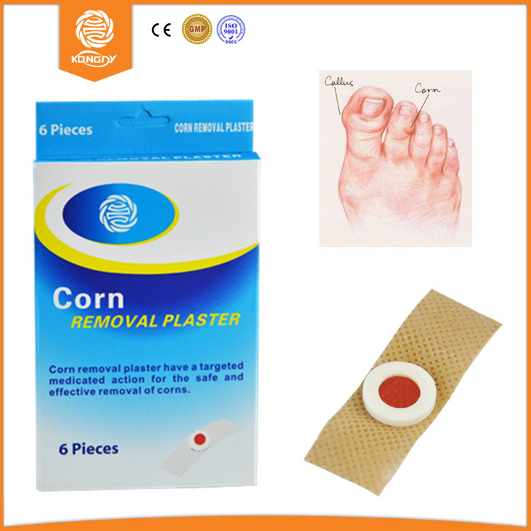 Foot Care KONGDY Foot Callus Removal Tools Medical Corn Removal Plaster 30 pieces(5 boxes) Foot Corn Pads Free Shipping(China (Mainland))