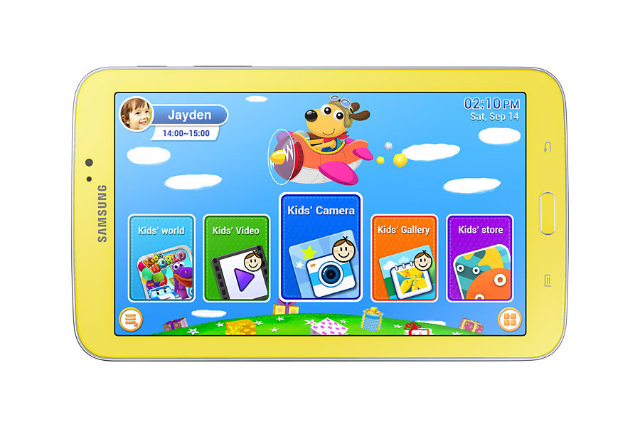 7 inch Dual Core Children Kids Tablet PC samsung galaxy tab 3 T2105 Android 4.1 Games App Birthday Gift tablet pc(China (Mainland))