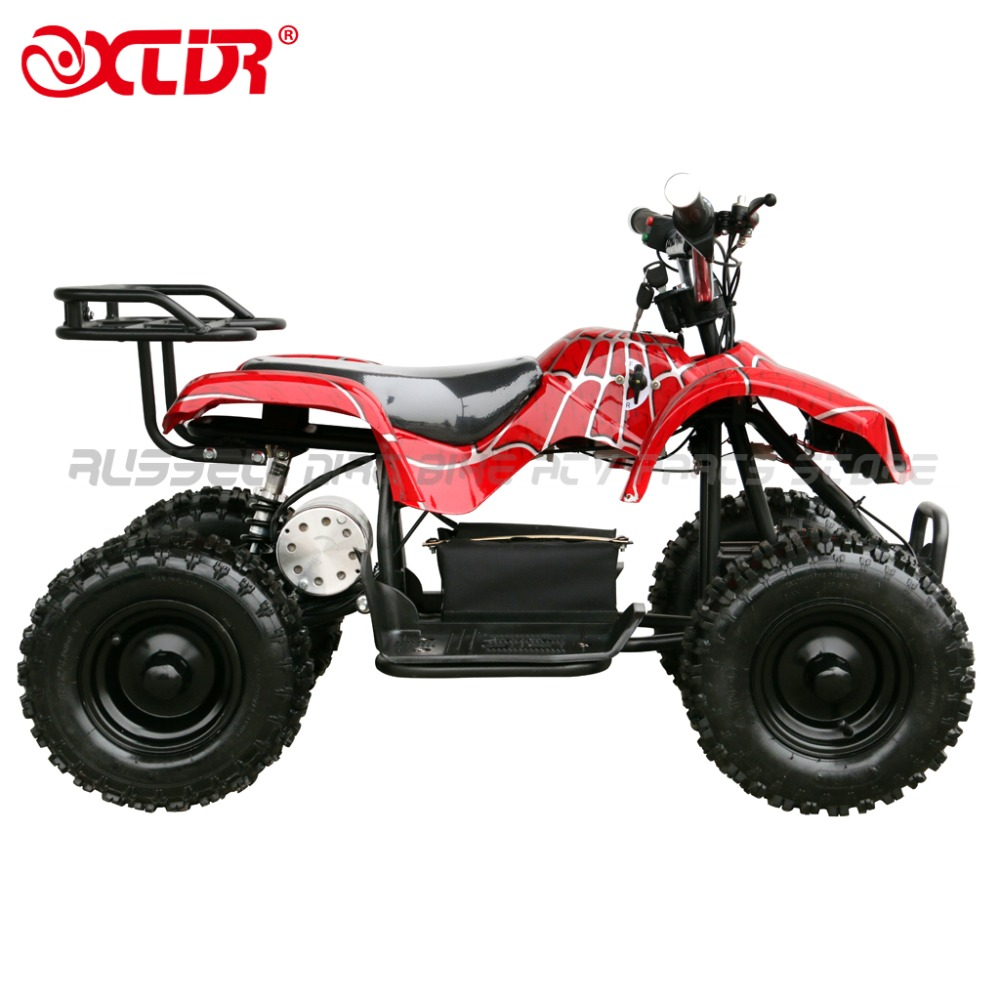 RED Child 24V 500W Electric Ride On Mini Quad ATV Kids Gift free shipping (USA stock)(China (Mainland))
