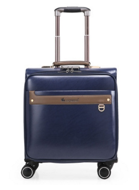 17inch 49cmx40cmx20cm Boarding trolley 4wheels travel luggage or suitcase for men or women(China (Mainland))