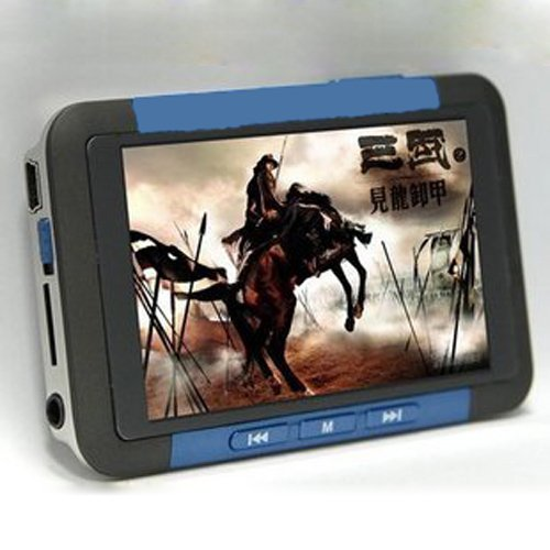 Brand New 3 inch TFT Screen Real 8GB MP4 MP5 Game Player with FM Radio Ebook TV- out Red Blue(China (Mainland))
