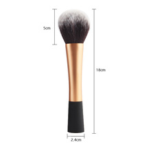 maquiagem Brand Fashion gold professional makeup brushes genuine big powder brush with original box synthetic hair