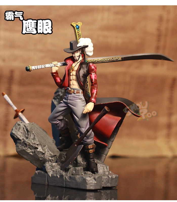 High quality!!15cm Japanese Anime One Piece Action figure modelling plot battle luffy eagle eye Toy Furnishing articles(China (Mainland))