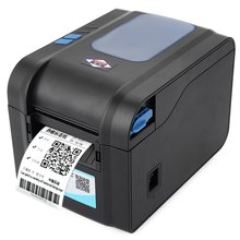2016 Brand New Aibao BC - 80152T Mini 80mm Label Barcode Thermal Printer with Free Paper Roll with EU PLUG(China (Mainland))
