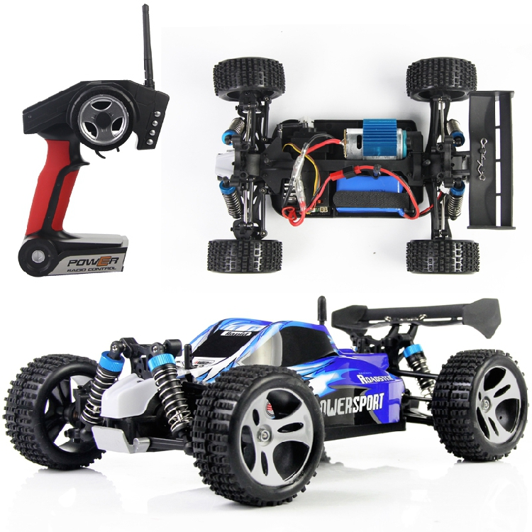 WLtoys A959 Electric Rc Car Nitro 1/18 2.4Ghz 4WD Remote Control Car High Speed Off Road Racing Car Rc Monster Truck For Kids(China (Mainland))