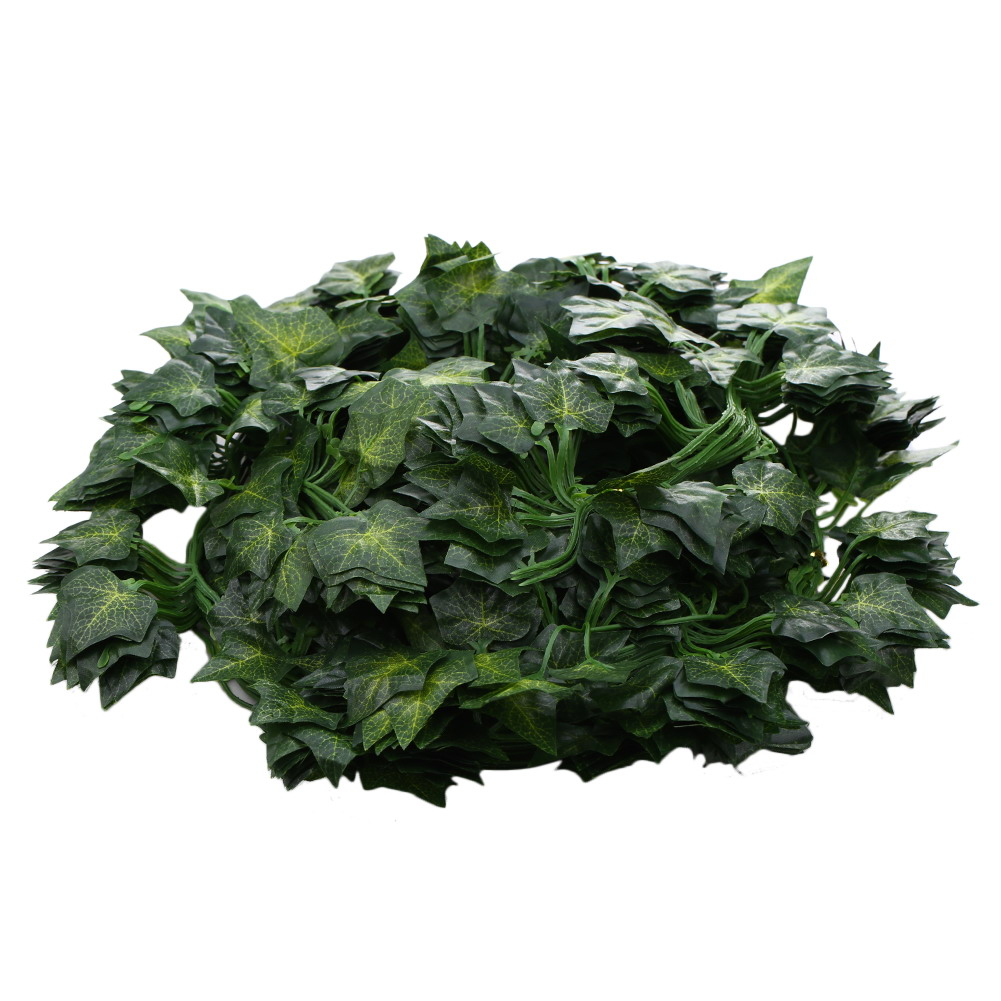 6pcs 250cm Green Vine Decoration Artificial Plants Green Ivy Leaves Artificial Vine Fake Foliage Flowers Home Decor(China (Mainland))