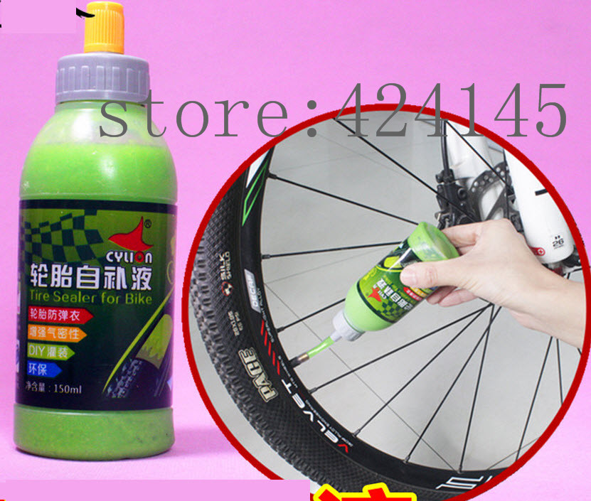 1 bottle bicycle Tire repair kits Ride On Tire Protection Tyre Sealer Wheel Tire Puncture Sealant Van tubeTyre Puncture Sealer(China (Mainland))