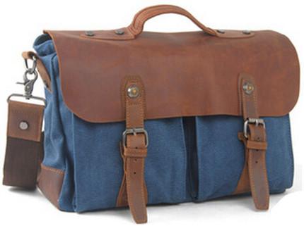 Hot sale 2015 New Fashion men messenger bags military vintage canvas handbags cross body bags laptop satchel bags 1023(China (Mainland))