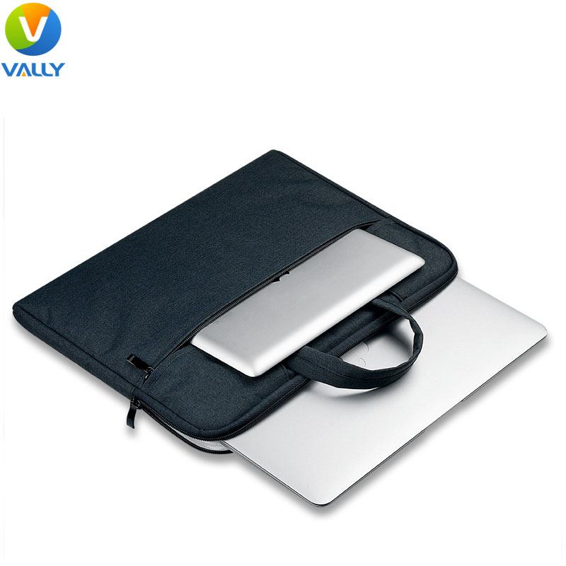 Breathing Material Zipper Laptop Briefcase Sleeve Bag for MacBook Pro/Air 12/13/15 inch Portable Shoulder Sleeve<br><br>Aliexpress