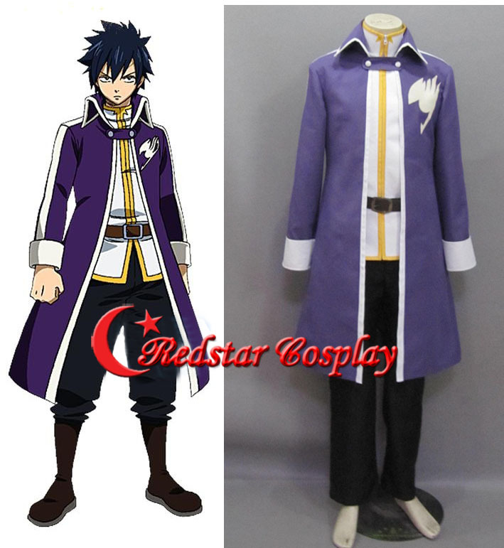 Gray Fullbuster Costume - Fairy Tail Cosplay Gray Fullbuster Cosplay Purple Mens Fairy Tail Cosplay CostumeОдежда и ак�е��уары<br><br><br>Aliexpress