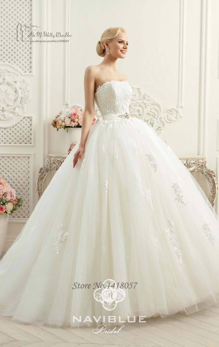 Buy vestidos de noiva 2016 gorgeous white for Buy back wedding dresses