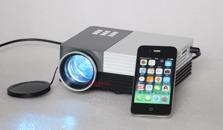 2016 new mini led portable projector full hd 1080p home for Smallest pico projector 2016