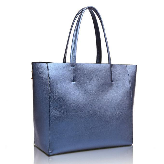 Hot Sale 2015 Women Genuine Leather Composite Bag Famous Brand Designer Handbag Simple Fashion Style Shoulder Bags Female