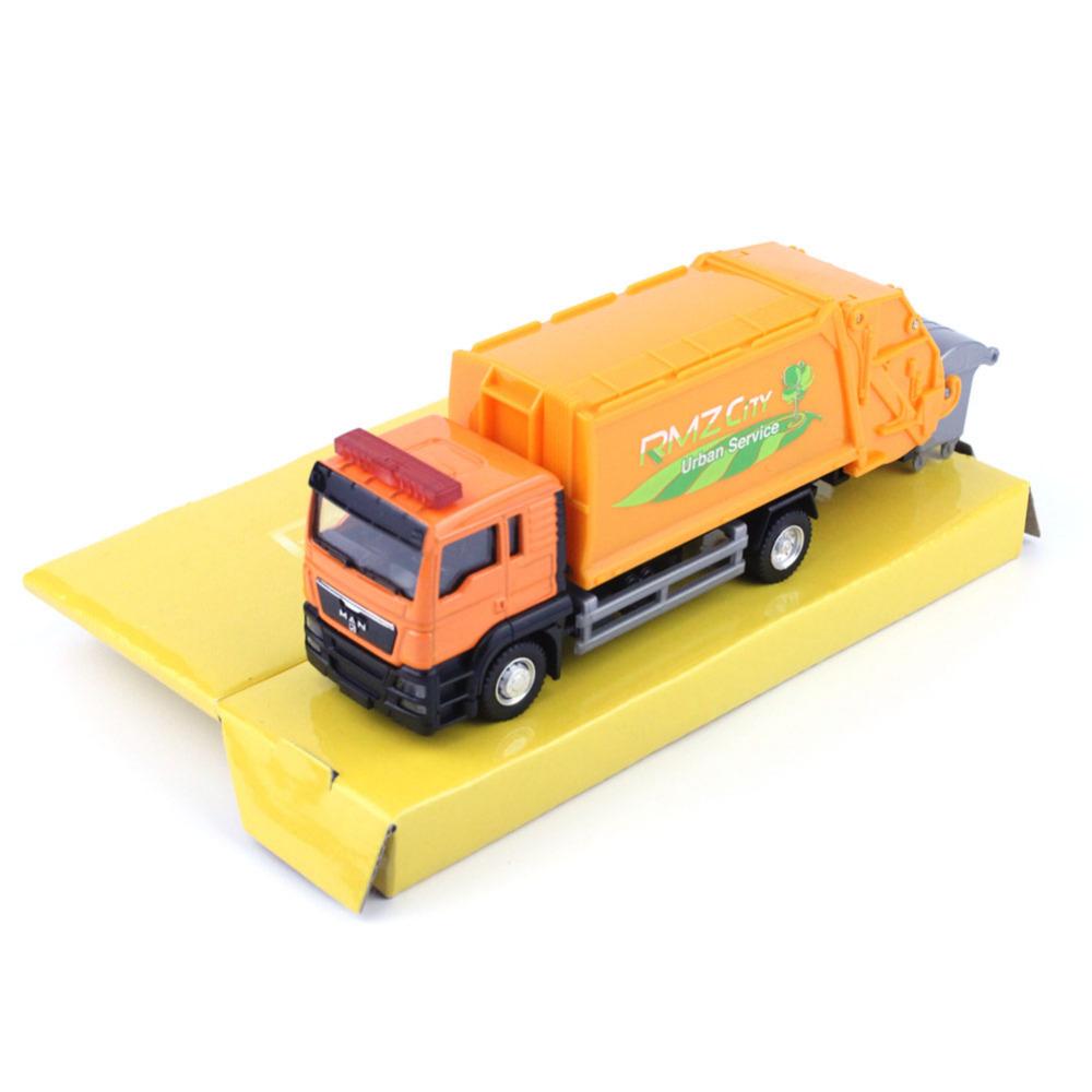 High Quality RMZ City Man Garbage Dump Truck 144026 1/64 Diecast Vehicles Model Car Toys Friend Children Gift Original Package(China (Mainland))