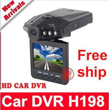 "Free shipping IR Vehicle in-Car DVR Dash Cam Camera Road Video Recorder Night Vision 270 2.5""mini car dvr"