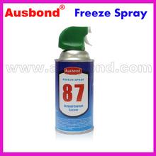 Wholesale Ausbond 87 403A 134A Super Cold Spray 350ml Aerosol Can Freeze Liquefied Gas Spray|Freezing Spray|Freeze Spray(China (Mainland))