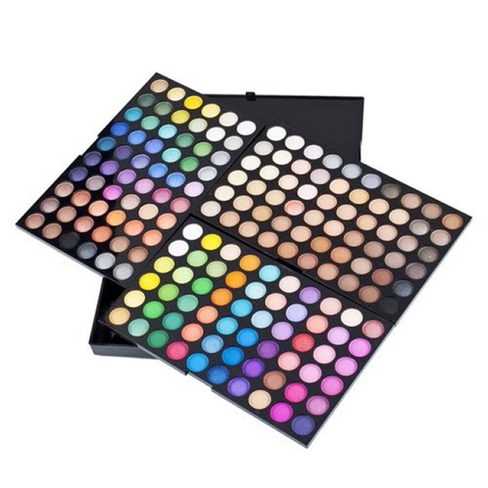 Hot New 180 cores de sombra sombras eye makeup professional faz up Kit palette set cosmética