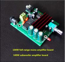 Buy TPA3116D2 100W mono digital amplifier board Subwoofer amplifier board pre-op amp NE5532 for $5.86 in AliExpress store